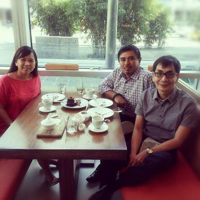 Lunch with Katia Quiroljico and Michael Morales at Kabila